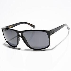 New VonZipper Blotto Sunglasses Gloss Black/Grey Polarized Lens RRP $190