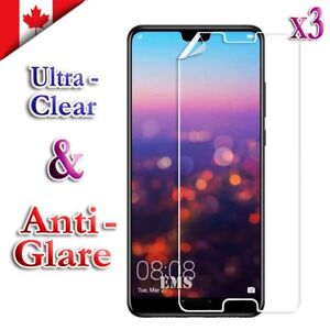 3X Clear & Anti Glare Matte Screen Protector Film For Huawei P20 Pro