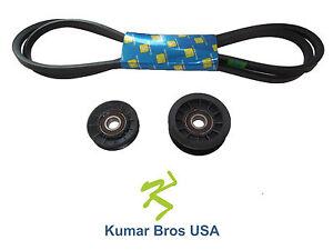idler pulley kit w transmission drive belt fits john deere. Black Bedroom Furniture Sets. Home Design Ideas