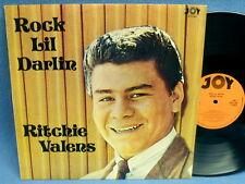 LP RITCHIE VALENS - ROCK LIL' DARLIN' // UK ENGLAND JOY RECORDS