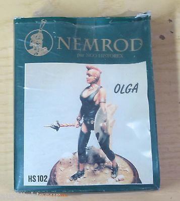 Nemrod Nco Historex Kit Figurine Fantasy Olga Hs102 L'Ultima Moda