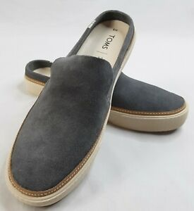 NEW-Toms-SUNRISE-Womens-Shade-Suede-10012405-Mule-Slip-Ons-Shoes-W-8