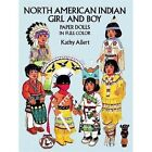 North American Indian Girl and Boy Paper Dolls in Full Colour by Kathy Allert (Other printed item, 2003)