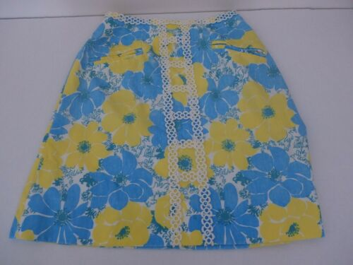 Lilly Pulitzer Vintage Skirt SZ 4 The Lilly 1960s… - image 1
