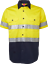 HI-VIS-SHIRT-SAFETY-COTTON-DRILL-WORK-WEAR-SHORT-SLEEVE-Air-Vents-UPF-50 thumbnail 14