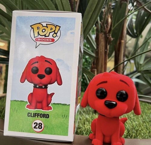 The Big Red Dog Clifford Hot Topic Flocked  #28 Funko Pop