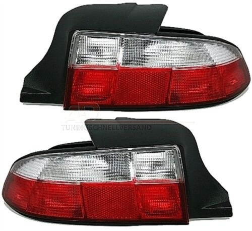 REAR LIGHTS BMW Z3 1.8 1.9 2.0 2.2 2.8 3.0 3.2 1.9i 2.2i WHITE RED LOOK M