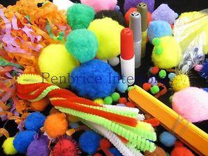 Art-craft-bucket-activity-set-toy-Bulk-lot-Christmas-birthday-child-kid-gift