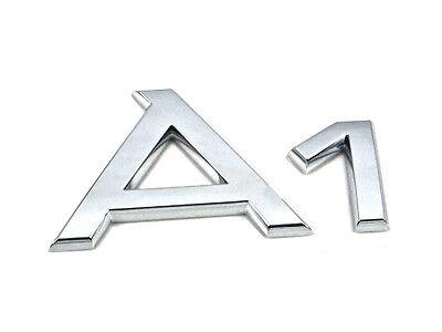 Genuine New AUDI REAR BADGE Rings Boot Emblem A1 2010 TDI TFSI 1.2 1.4 1.6 2.0
