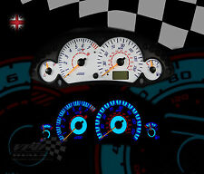 FORD FOCUS ST MK1 160MPH INTERIOR SPEEDO DASH PLASMA WHITE DIAL KIT