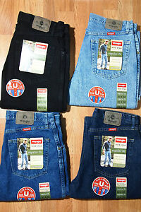 Wrangler-100-Genuine-Regular-Fit-Men-039-s-Jeans-Heavy-cotton-ONE-PAIR