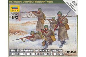 ZVEZDA-6197-1-72-Soviet-Infantry-in-Winter-Uniform