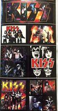 Kiss Band Sticker Set of Seven