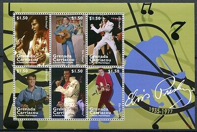 Caribbean Grenada Grenadinen 2008 Elvis Presley Sänger Musik Music 4432-4437 Mnh Bringing More Convenience To The People In Their Daily Life Stamps