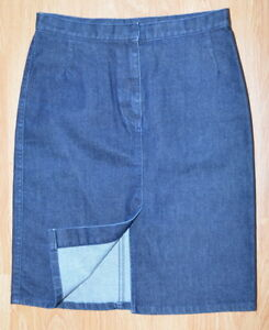 842d9dbf92 Women s jean skirt SISLEY Size 42 (EU) 29x20 (USA) Made in Italy
