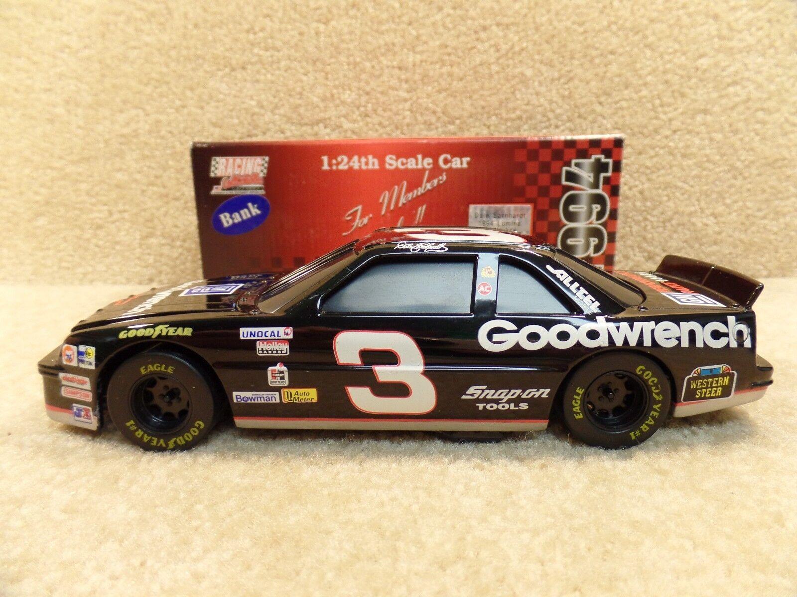 1994 Action 1 24 NASvoiture  Dale Earnhardt Sr GMGW Goodwrench Chevy Lumina  3  livraison gratuite et échanges.