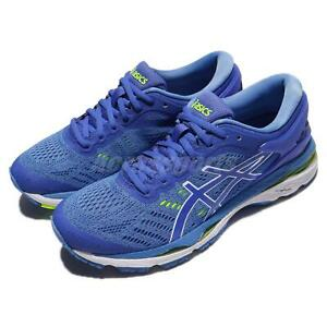 Asics-Gel-Kayano-24-Blue-Purple-Green-Women-Running-Shoes-Sneakers-T799N-4840