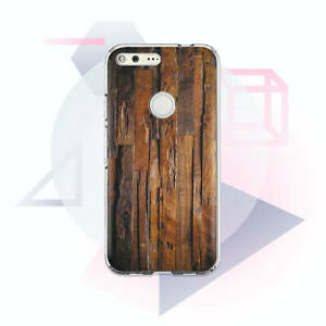 new concept 5025d add8c Details about Silicone Case For Google Pixel 3 XL Wooden Design Pixel 2 XL  Plastic Cover Shell