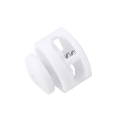 100 Cord Locks Plastic Toggle Adjustable Stopper End Elastic String Drawstring