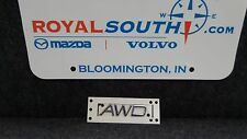 Genuine Volvo S40 S60 S80 XC60 XC70 XC90 Rear Emblem AWD OE OEM 9157130