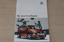 185019) VW Cross Touran Prospekt 12/2006