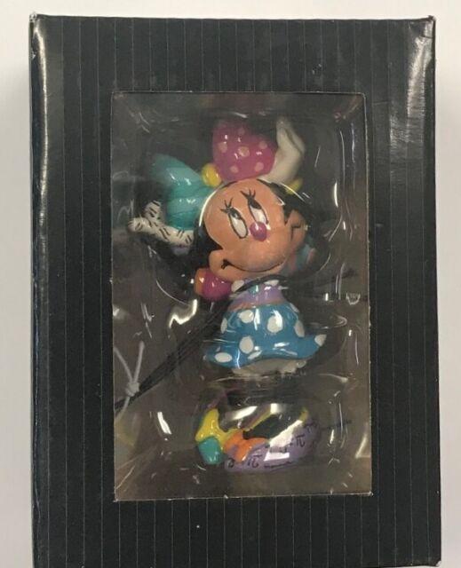 Disney Romero Britto 2015 Minnie Mouse Posing Mini Figurine 4039373