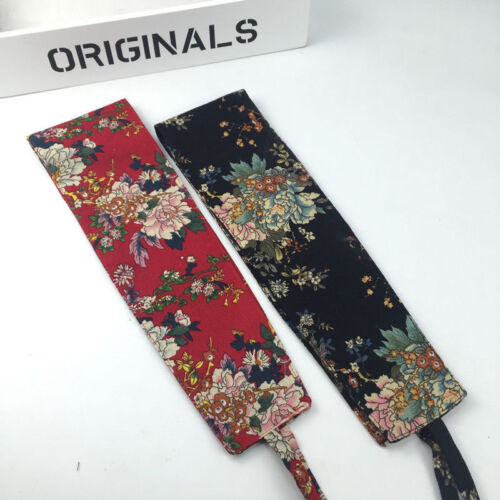 japanisch Vintage Obi Gürtel bedruckt Kimono Yukata Bund Korsett breit hekoobi