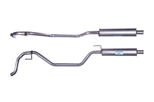 Exhaust Center Middle Silencer Muffler For Vauxhall Vectra GGM445
