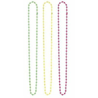 Pride 3pk Necklace Neon Disco Festival Parade Party Fancy Dress Accessories