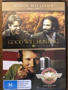 Robin-Williams-Collection-Good-Will-Hunting-amp-Good-Morning-Vietnam-2-DVD-s
