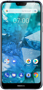 Nokia-7-1-Dual-SIM-32GB-Blue-TOP-Zustand