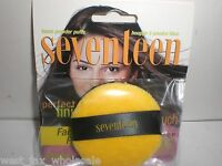 Seventeen Compact Face Makeup Shine Control Yellow Loose Powder 6 Puffs 171225