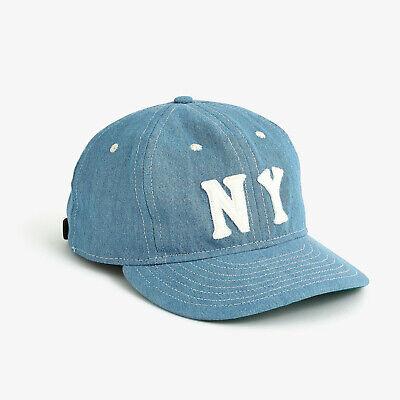 09ccbe289 Ebbets Field Flannels x J.Crew New York Black Yankees MADE IN USA Baseball  Cap | eBay
