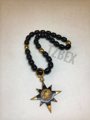 Rosary Thief Star tzbex NEW Origina Четки черный Воровская звезда Handmade