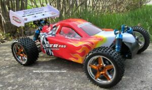 Car  Brushless Electric HSP 1//10  XSTR-PRO LIPO 2.4G 4WD 10712 RC Buggy