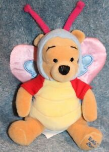 Disney-039-s-Winnie-the-Pooh-Plush-Butterfly-Easter-2000