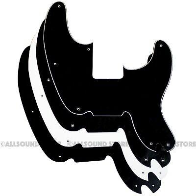 For Fender Telecaster Precision Bass Guitar Pickguard 1 Ply Black