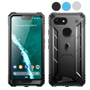 Poetic Shockproof Case For Google Pixel 3 XL Full Coverage Protective Cover