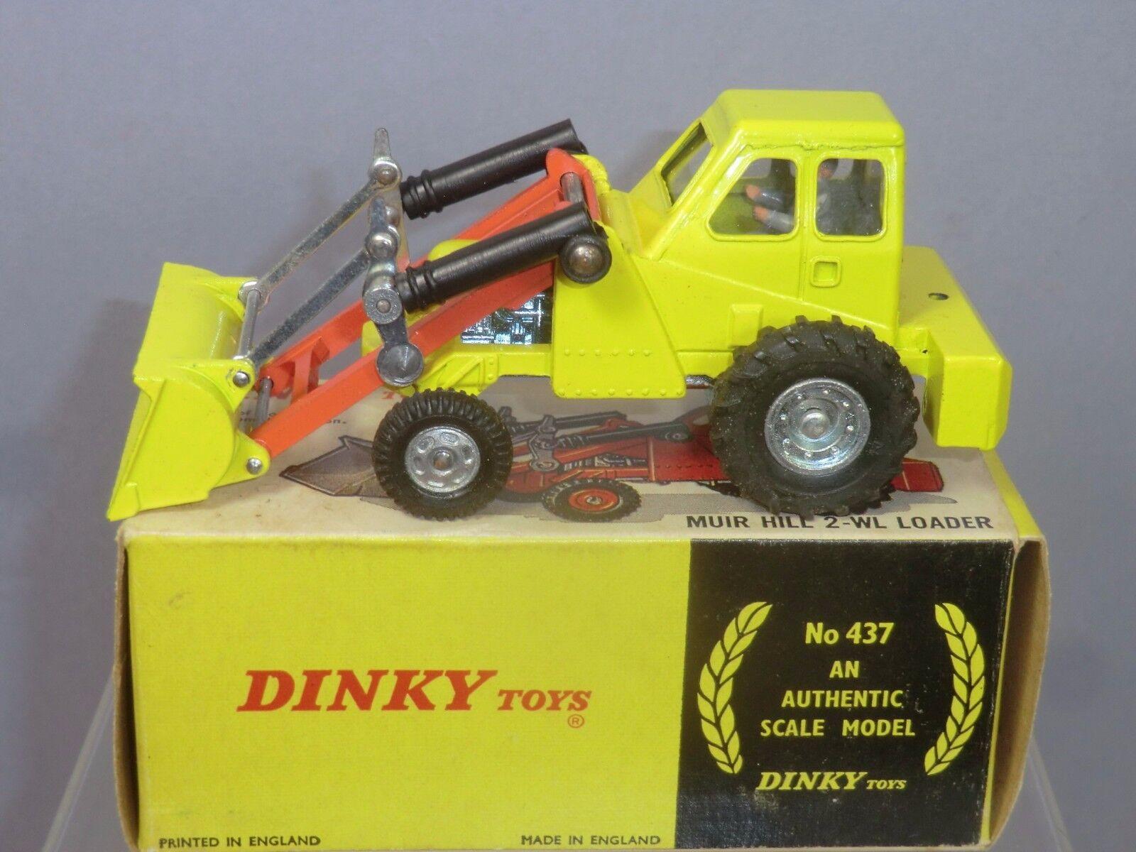 Dinky Juguetes No.437  Muir Hill  2 WL Cochegador  Taylor Woodrow  3rd edición VN MIB
