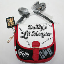 Harley Quinn DC Comics Suicide Squad Daddy's Lil Monster Crossbody Bag Purse NEW