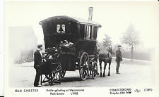 Old Chester Postcard - Knife-Grinding at Westminster Park Estate c1905   U699