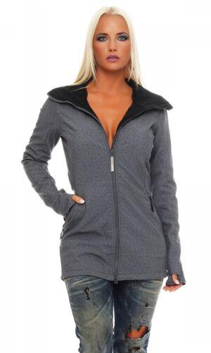 nuevo Bench-el B-gris-señora Softshell chaqueta Parka