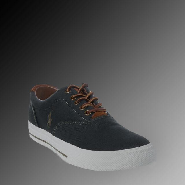 9703ea3a0 Men Polo Ralph Lauren Vaughn Canvas Sneaker Size 11 D Color Alpine ...