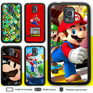 buy popular 5709a 7463a Details about Galaxy S8 S8 Plus S6 S5 Note 5 Case Super Mario Switch Print  Cover for Samsung