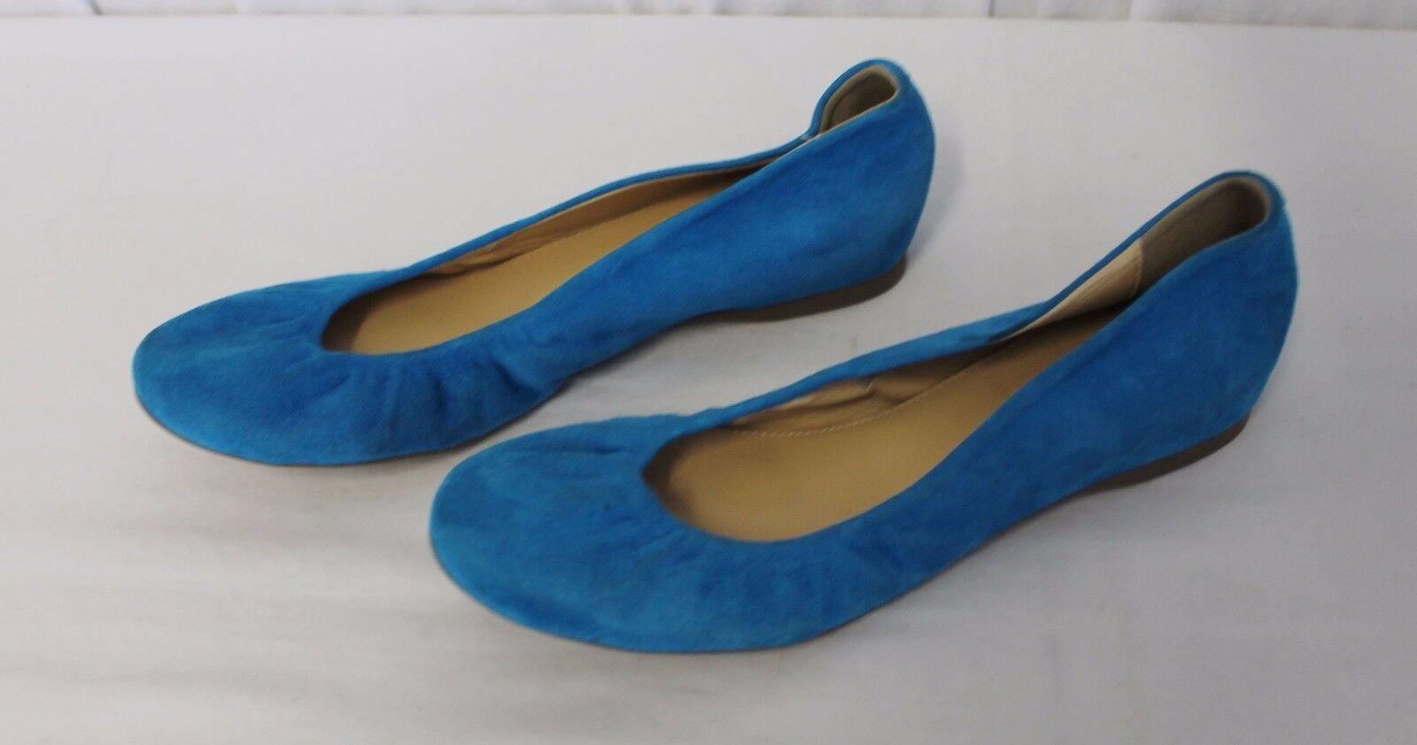 costo effettivo J CREW CECE SUEDE BALLET FLATS LEATHER Dimensione blu blu blu Dimensione 6 46198  acquista la qualità autentica al 100%