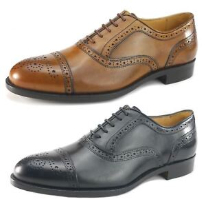 Details Or Black Oxford Shoes Fiorentini Brogue Mercanti About Leather Lace Tan Up Mens All 0w8PXOnk