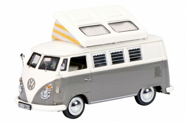 Volkswagen T1 Camping Bus Model in 1 43 Scale by Schuco