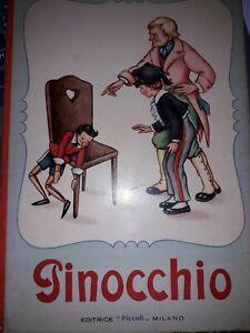 Rare-034-Pinocchio-034-tire-du-conte-de-Giovani-Burdese-dessins-Mariapia-Ed-Piccoli
