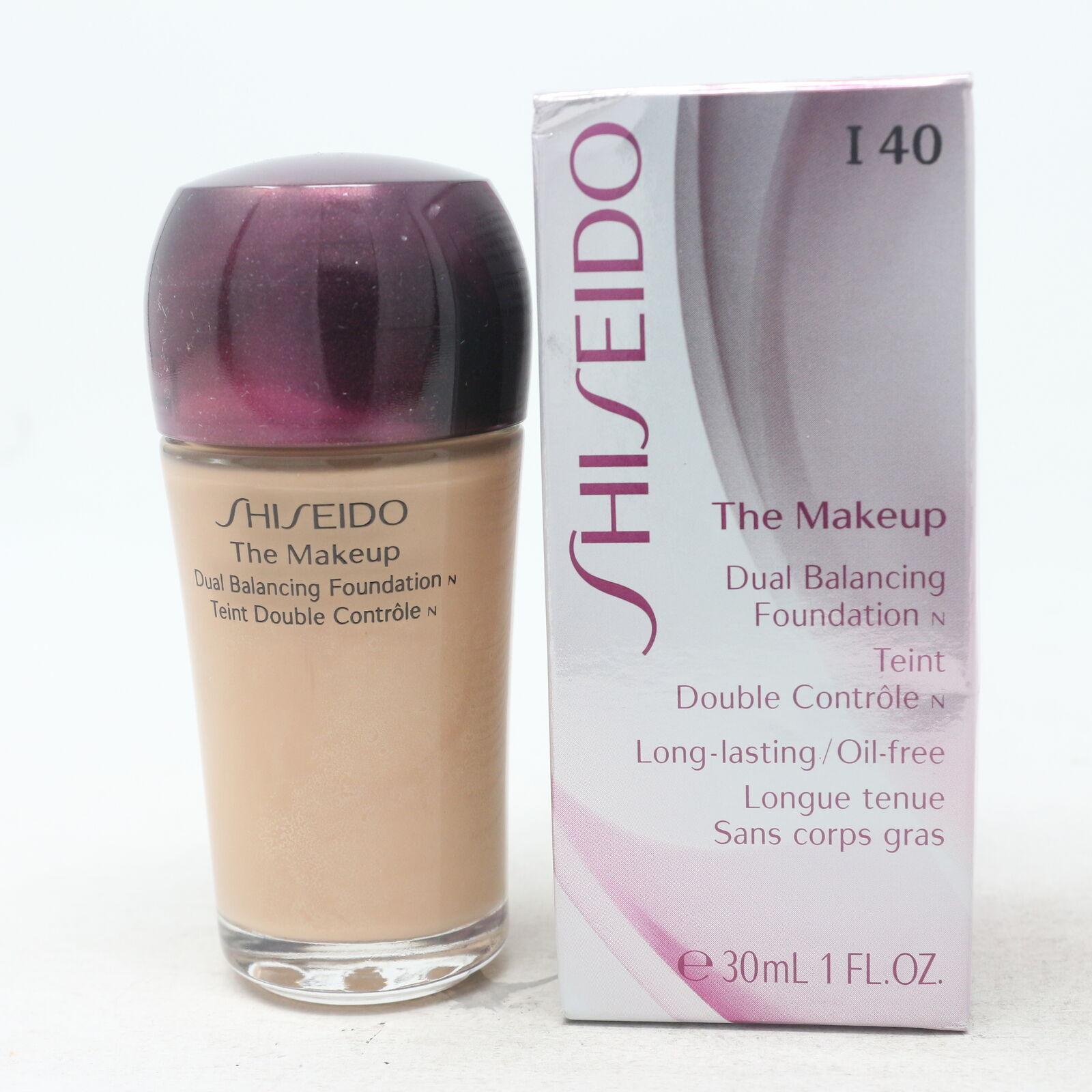 Shiseido The Makeup Dual Balancing Foundation O80 Deep Ochre 1 Oz For Sale Online Ebay