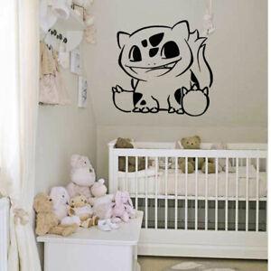 Details About Wall Decal Sticker Bedroom Anime Pokemon Cartoon Movie Nursery Boy Girl Bo2686